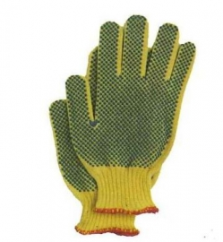 //WSL// KEVLAR WORK GLOVES W/DOTS 35KDBS KBD340-UNTAG MC6096